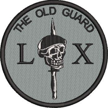 Old Guard Embroidered Badge